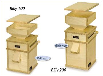hawos graanmolens billy 100 en 200